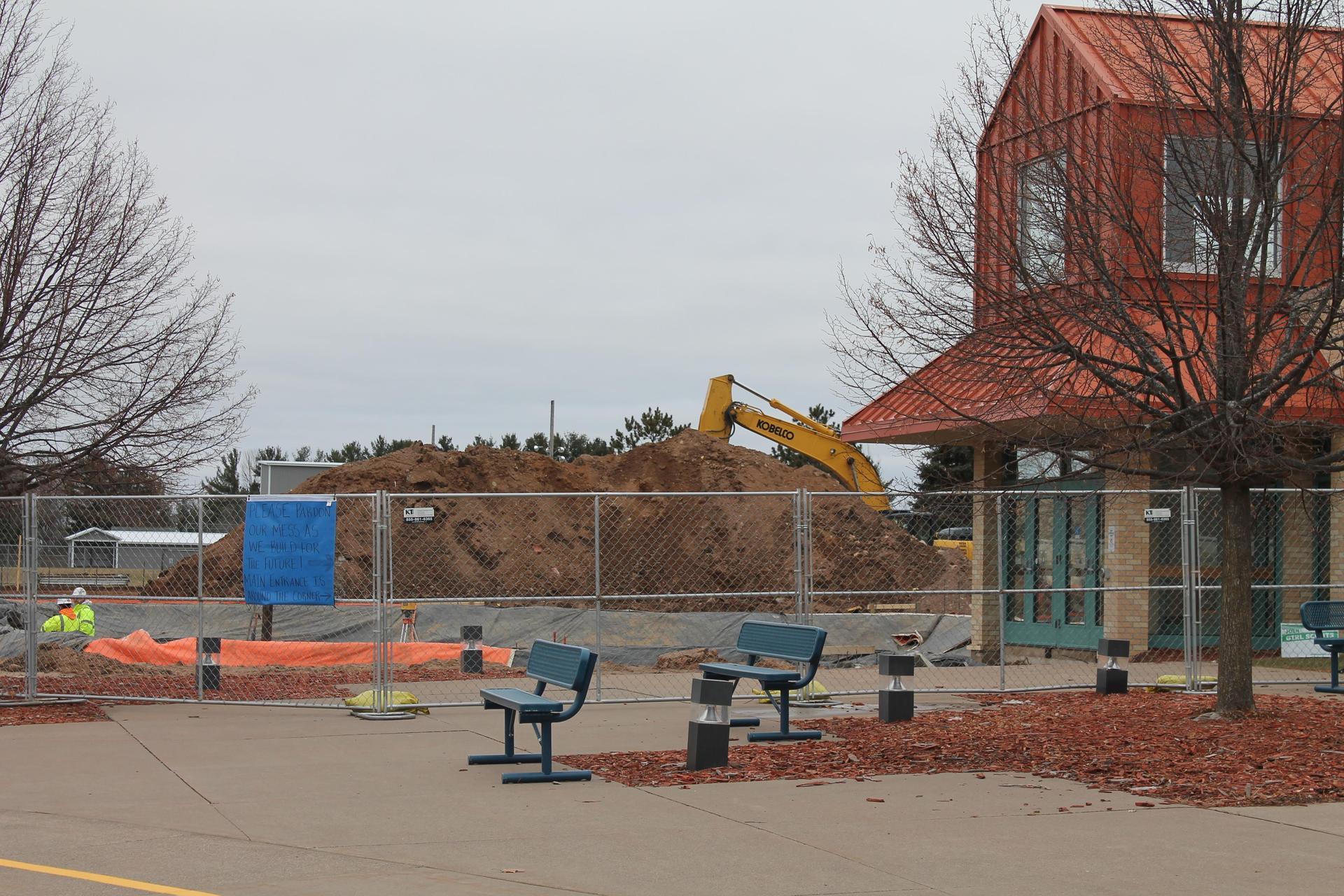 Elementary office dirt prep