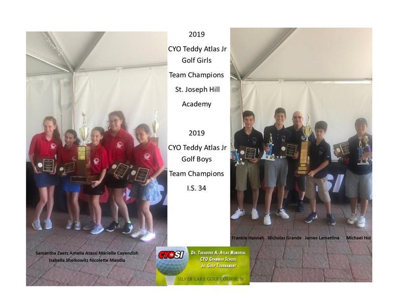 Girls Golf Team: 2019 Champions Featured Photo