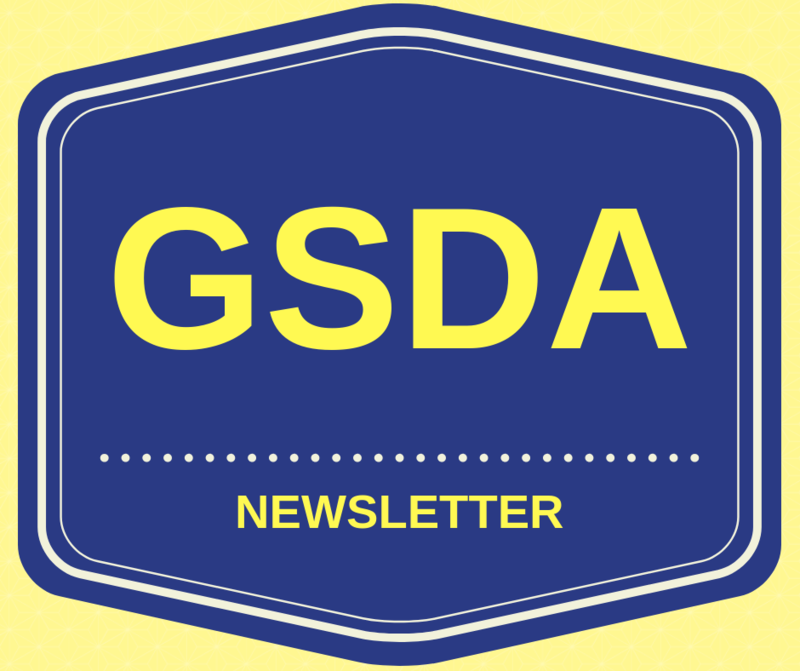 GSDA logo newsletter