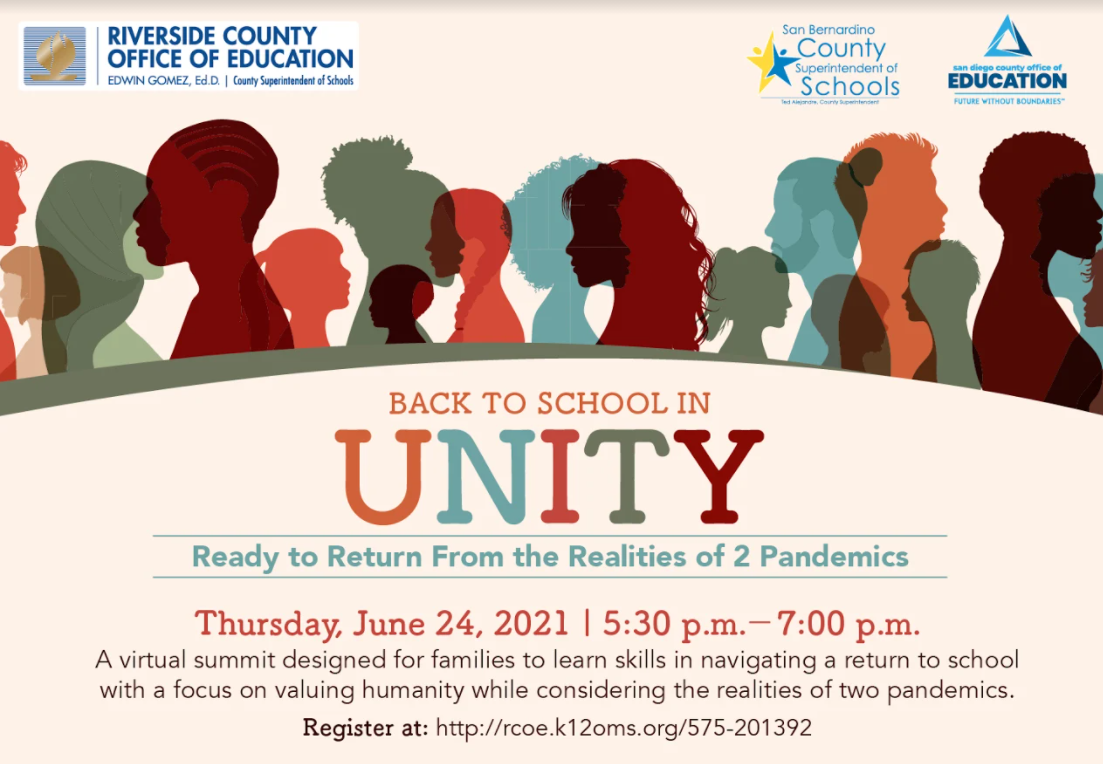 Back to School Unity Conference
