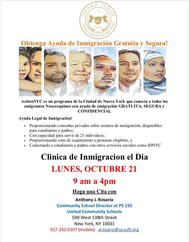 immigration flier spanish