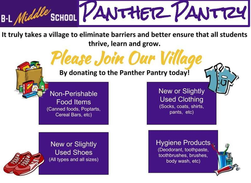 Support the new Panther Pantry Featured Photo