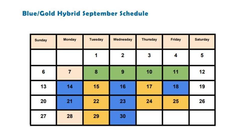 September Schedule Featured Photo
