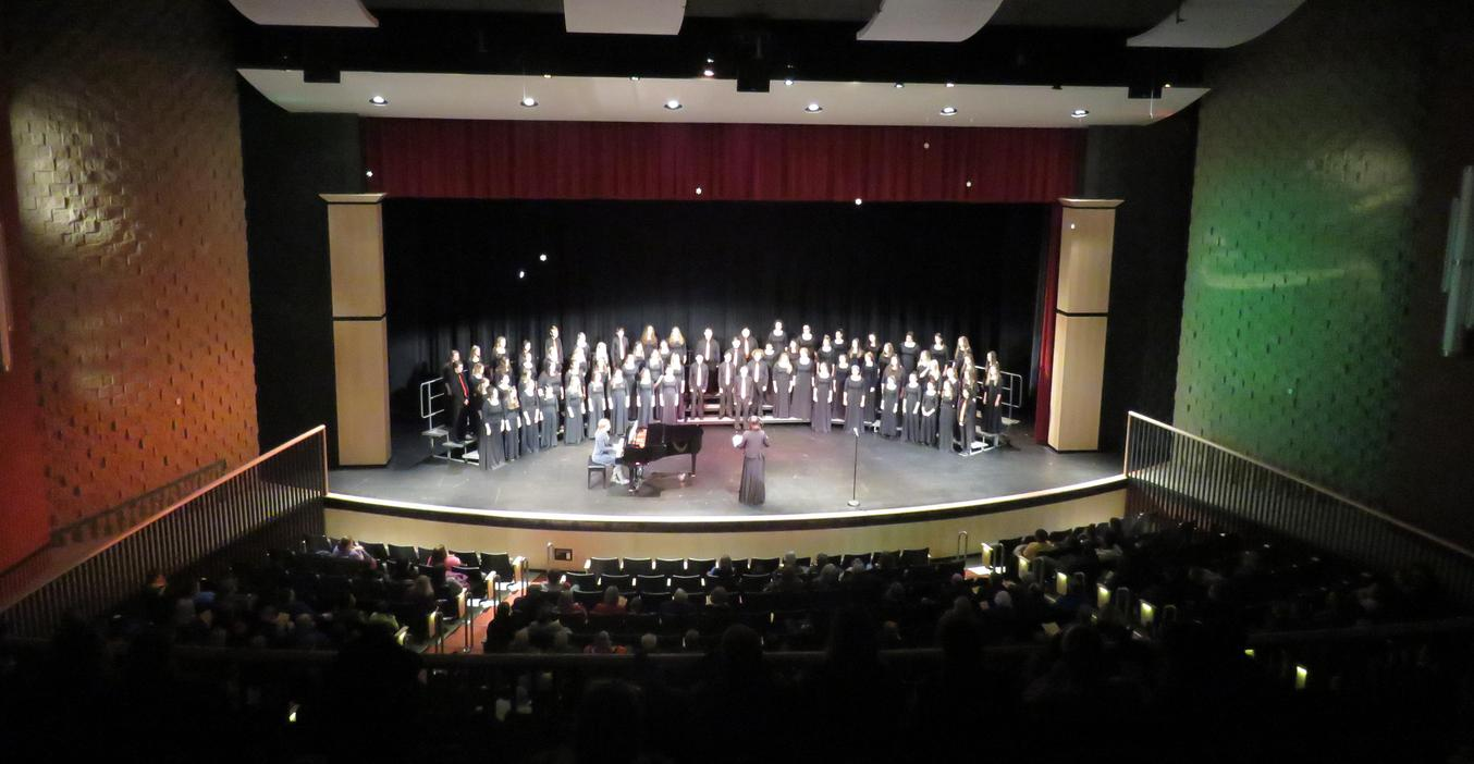 TKHS choirs perform a concert.