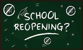 2020 - 2021 School Reopening Plan - Revised July 30, 2020 Thumbnail Image