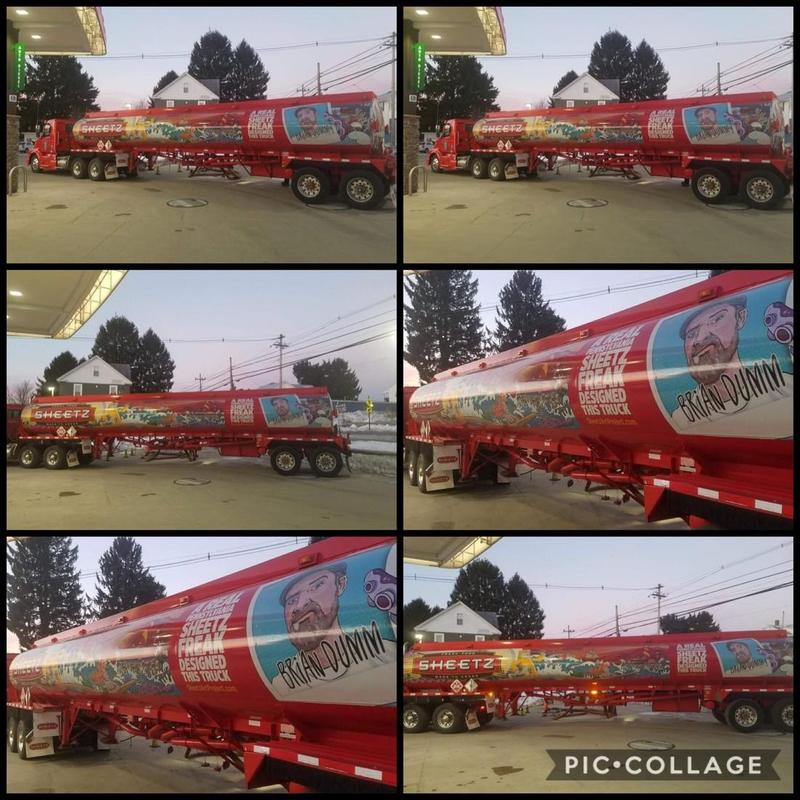 Sheetz truck designed by Mr. Dumm