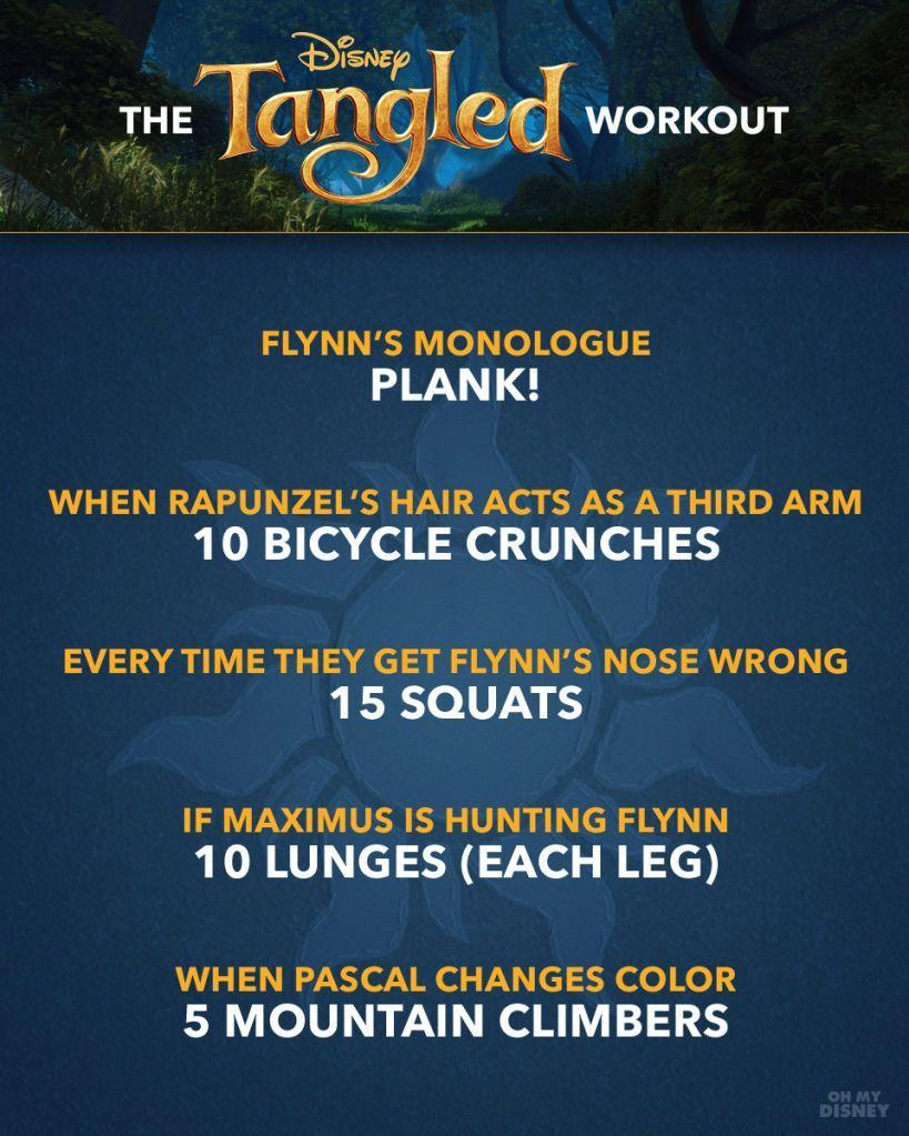 Tangled Workout