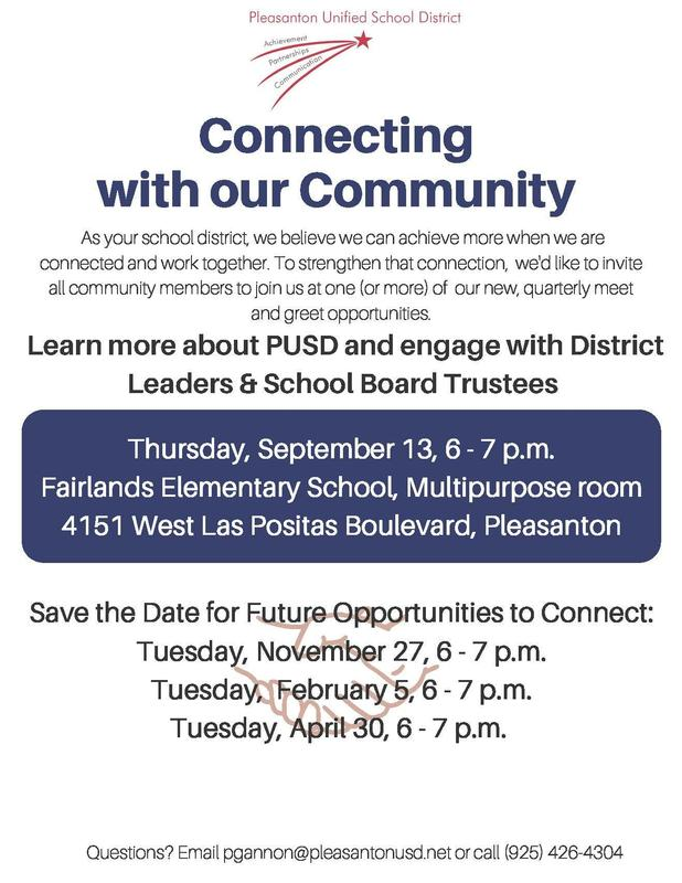 New Ways to Connect w/PUSD Featured Photo