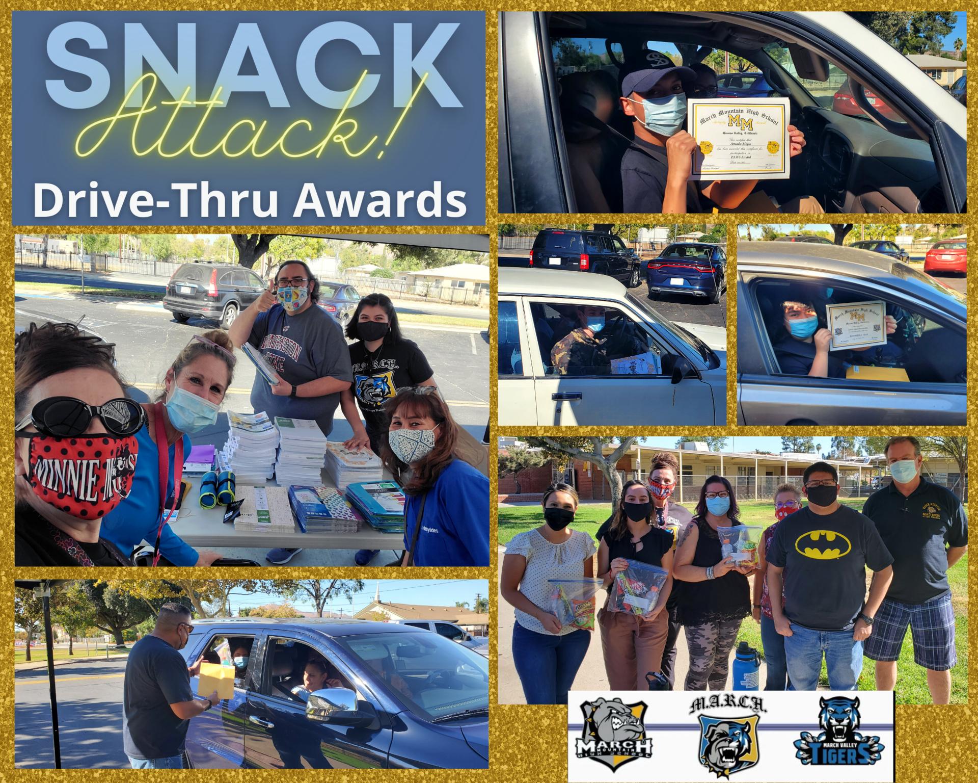 Snack Attack Drive-Thru Awards
