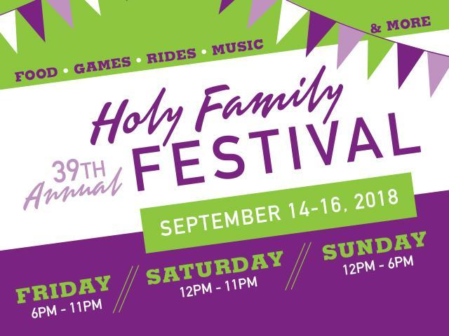 39th Annual Holy Family Festival Featured Photo