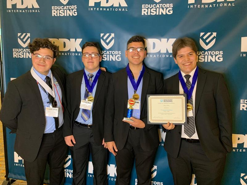 Vanguard Rembrandt Secondary TAFE students make history in being named best in the Nation! Featured Photo
