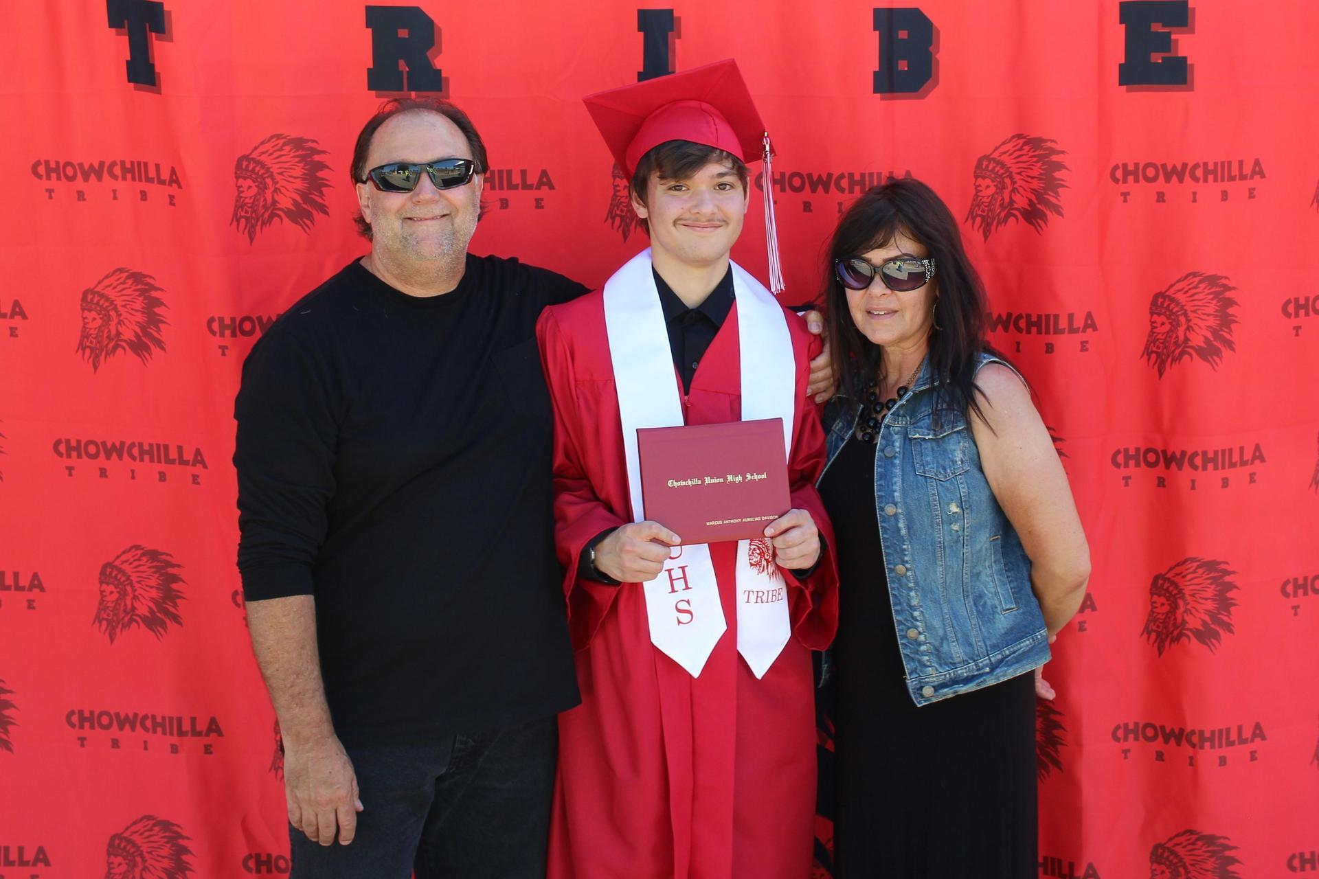 Marcus Davison and family