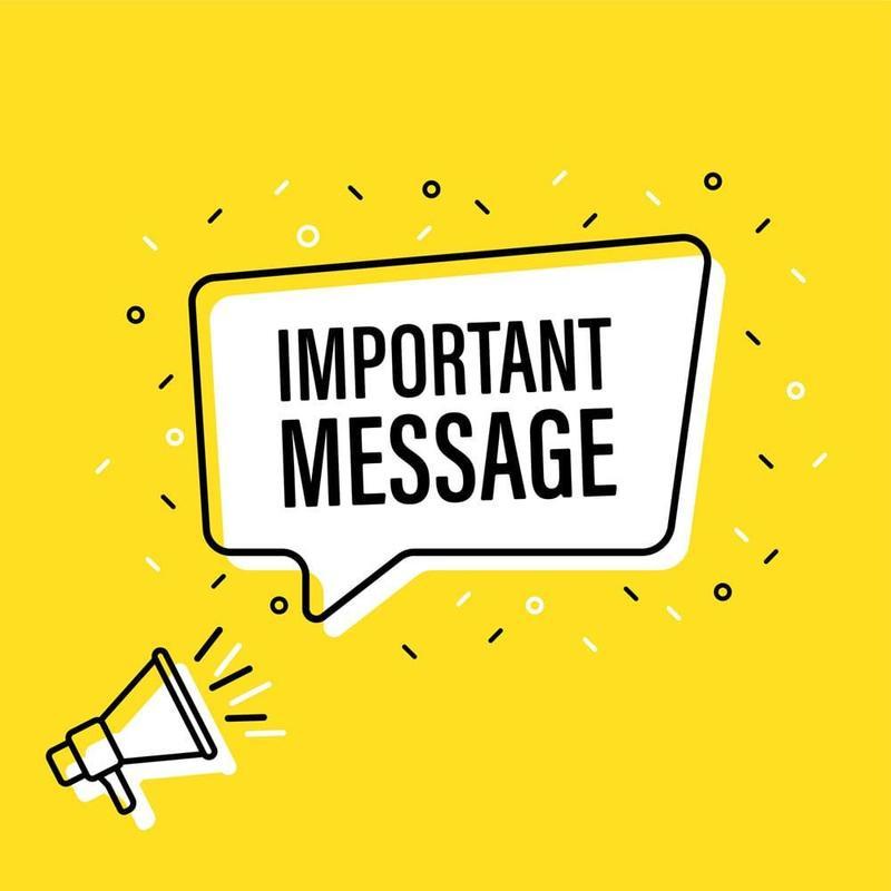IMPORTANT MESSAGE FOR BGE PARENTS Thumbnail Image