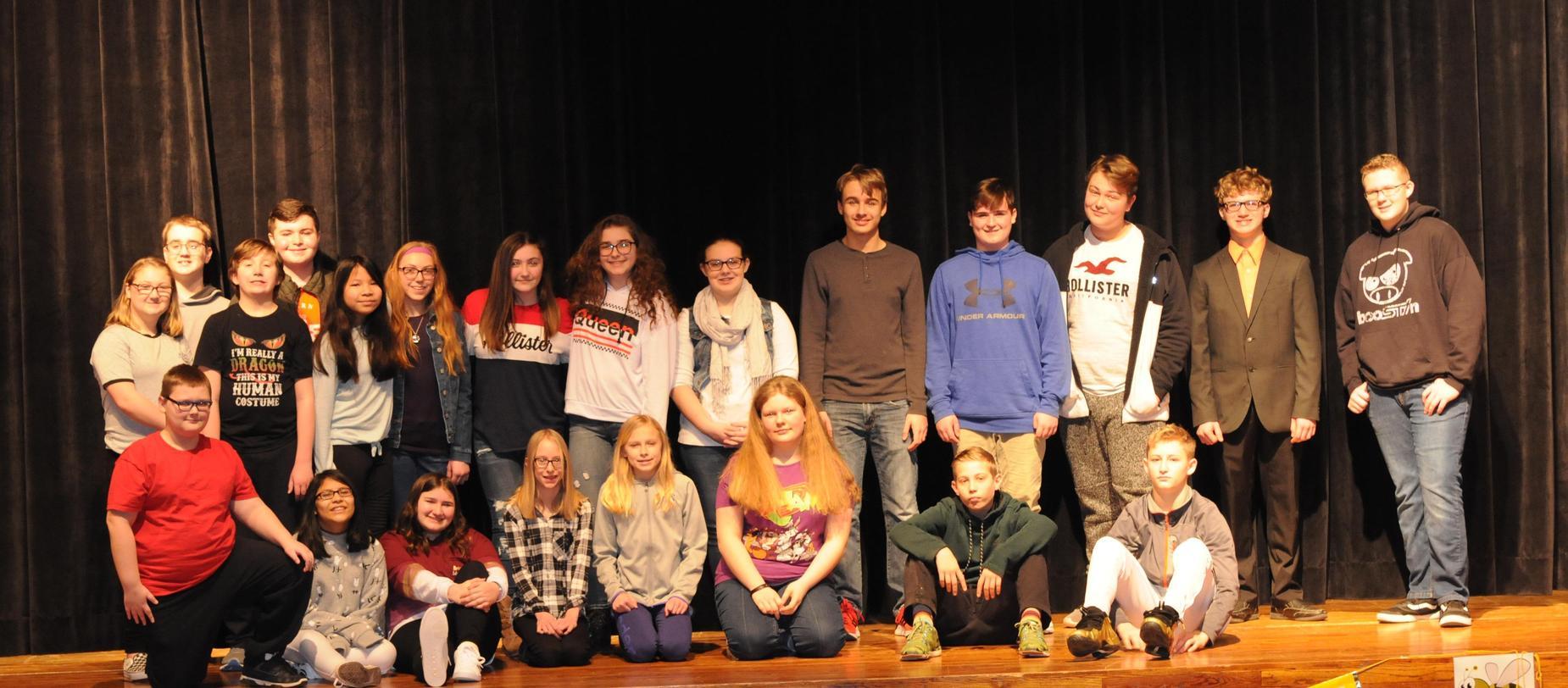 Spelling Bee Competitors