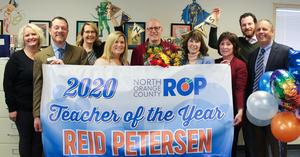 Reid Petersen at El Camino Real High School.