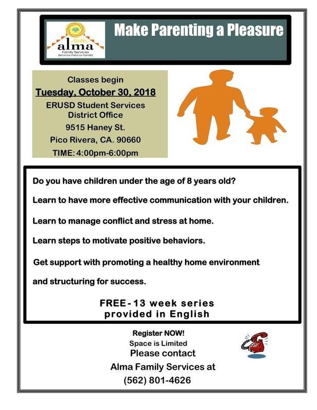 Flyer for parent class