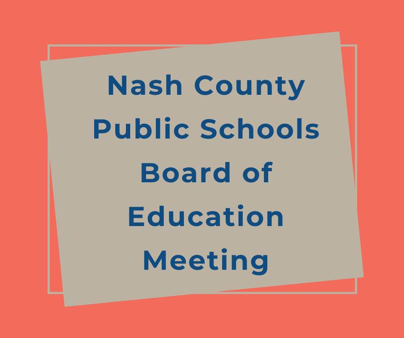 NCPS Board of Education Meeting