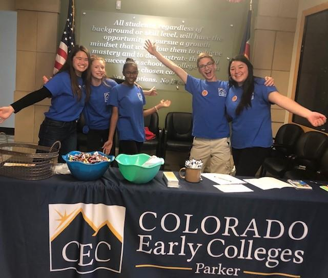 students at CECP College Fair