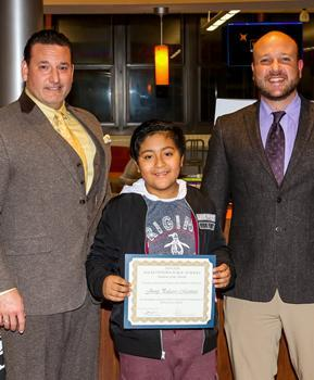 Willow Grove Student of the Month -  September 2019 - Jhony Palacios Martinez