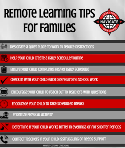 Infographic Help remote Learnin