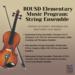 BOUSD Elementary String Ensemble Info