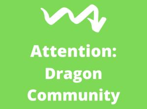 Attention Dragon Community