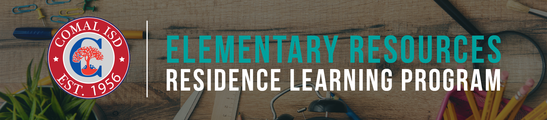 Elementary Resources Banner