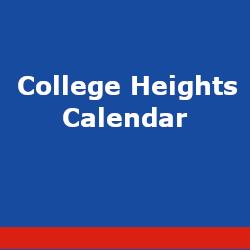 College Heights Calendar
