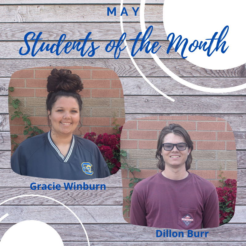 May Students of the Month Featured Photo