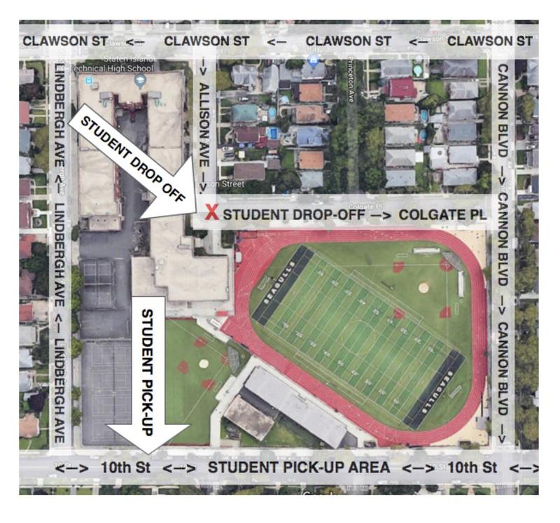 SHSAT Student Drop-Off / Pick-Up Zones & Times Featured Photo