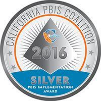 PBIS Silver Award 2016