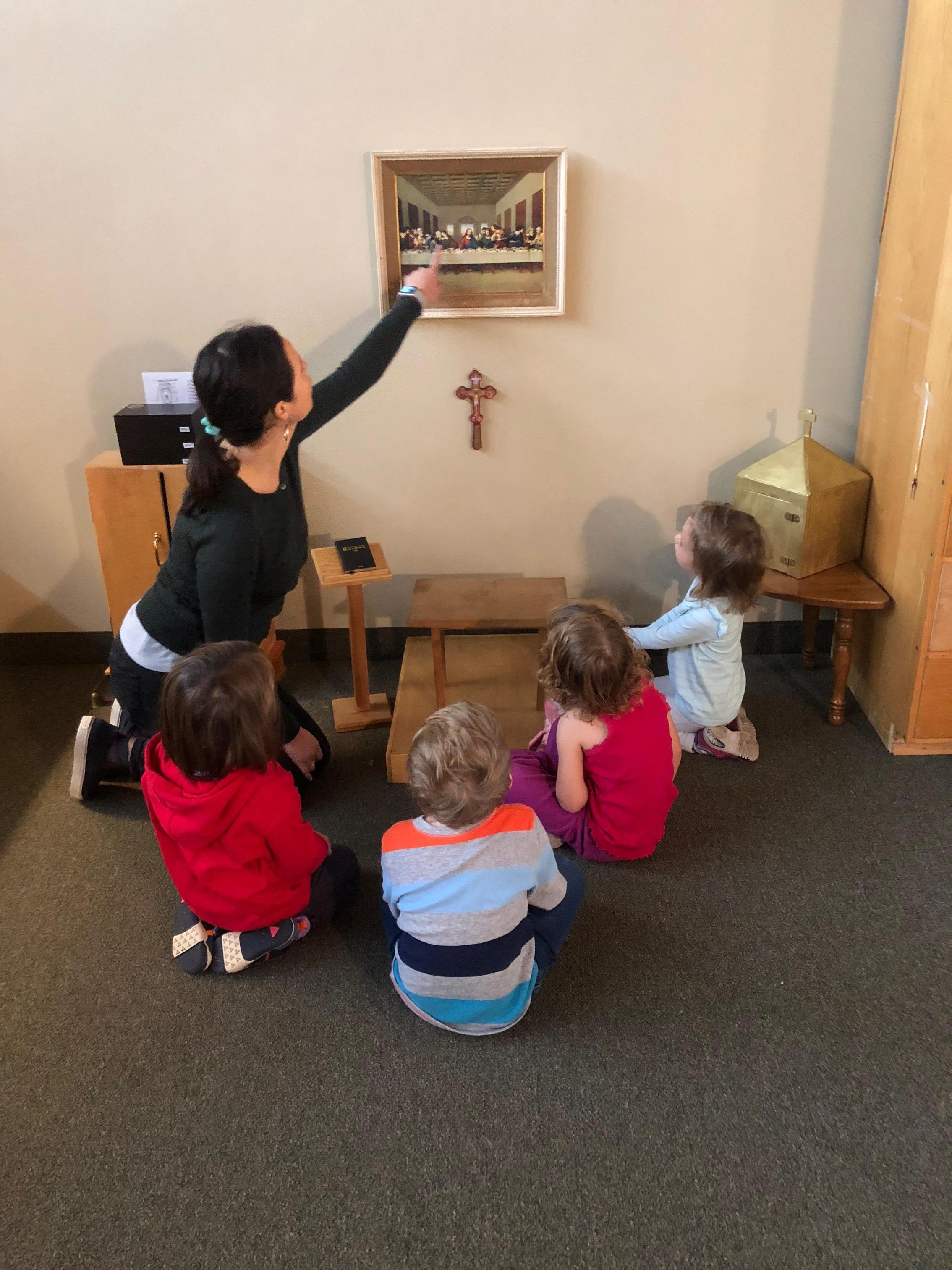 Ark of Angels Preschool - Grade Levels/Academic Departments - St