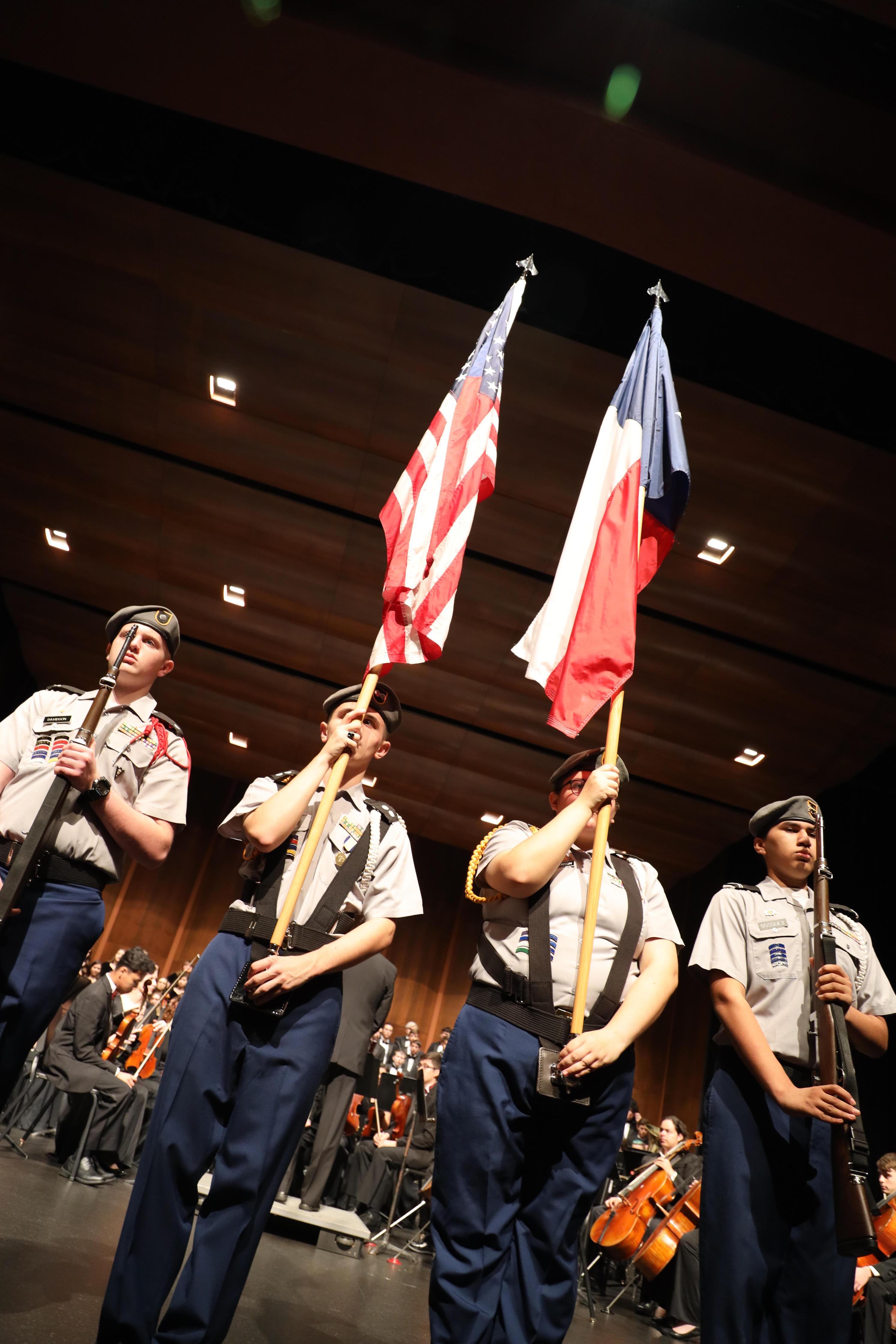 Deer Park High School South Campus Veterans Day program