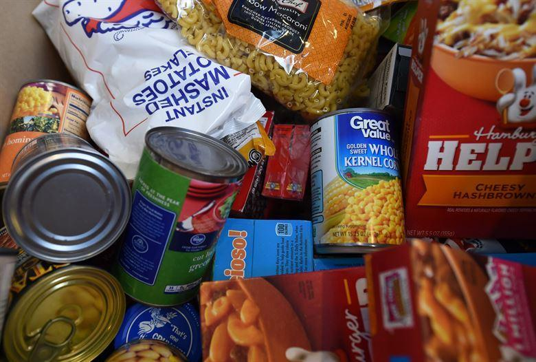 Picture of can food for food drive