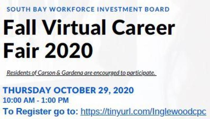 SBWIB Virtual Career Fairs
