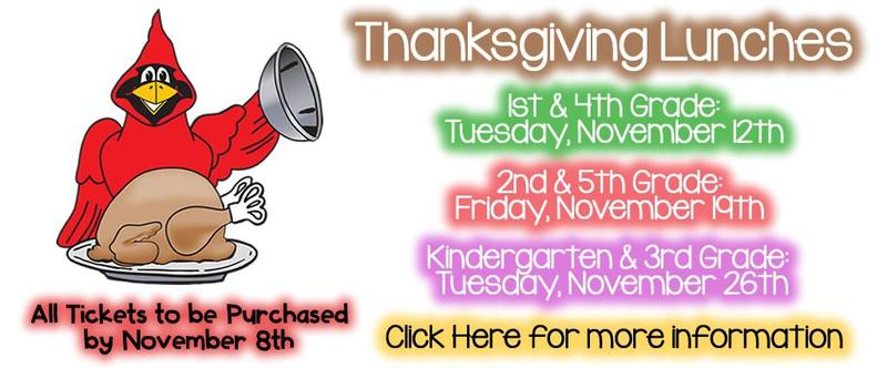 Thanksgiving Lunch Information! Thumbnail Image