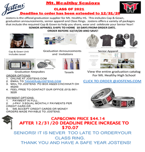 Mt . Healthy Seniors Class of 2021 Reminder to Order.png