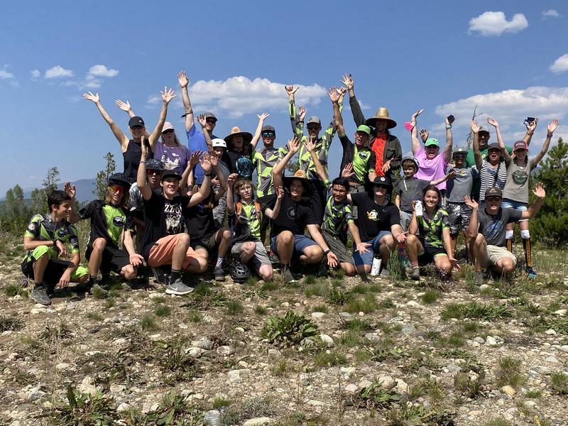 Mountain Bike Team Celebration