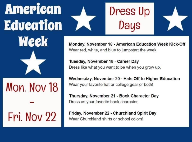 Image of American Education Week Information