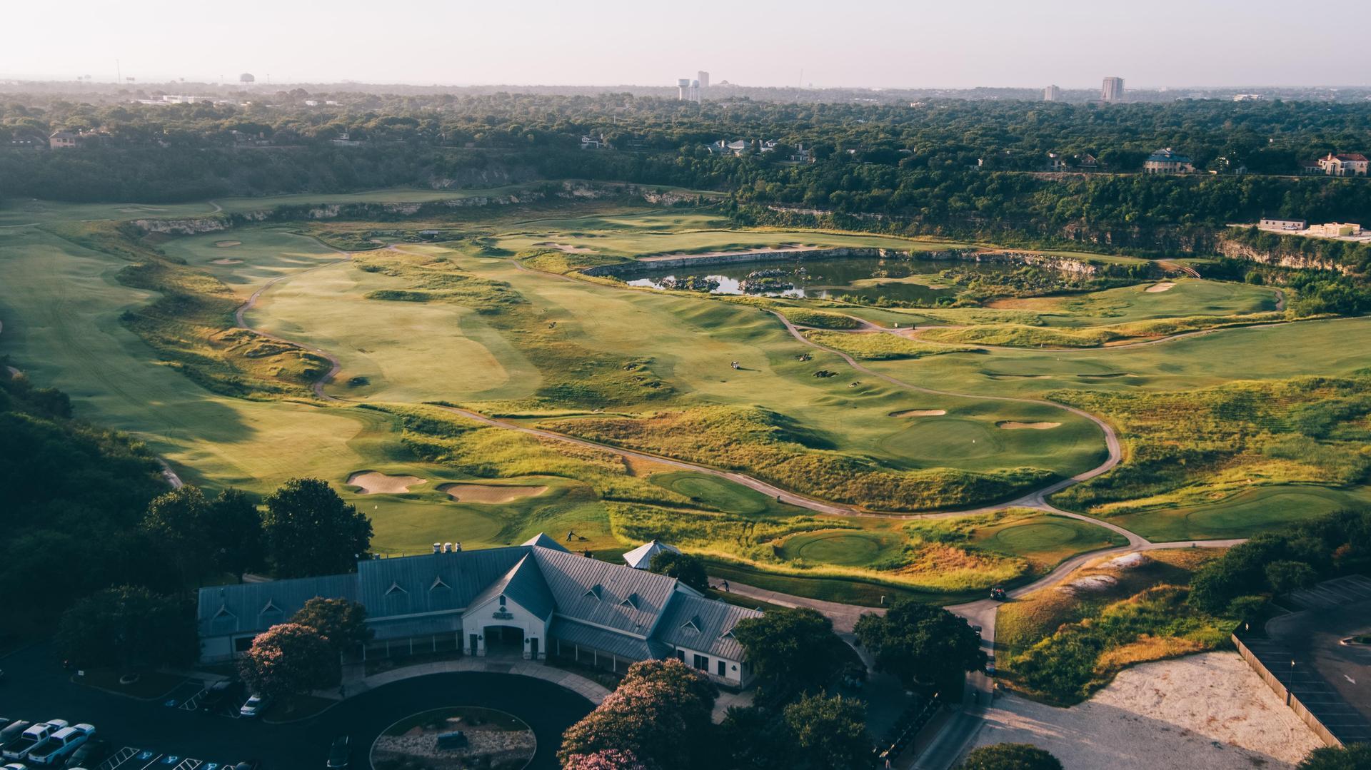 Quarry Golf Aerial