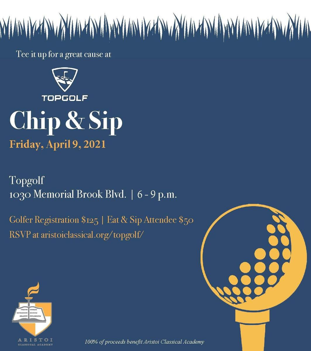 Topgolf Chip and Sip