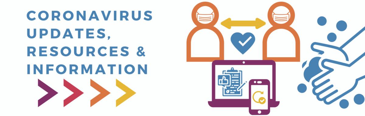 Coronavirus Update Page Info and Resources