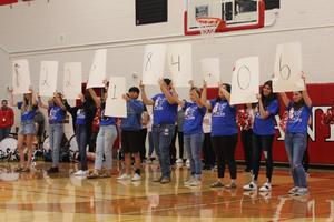 CHS S.P.U.D. week pep rally