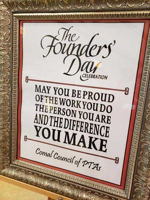 Council of PTAs Founder's Day