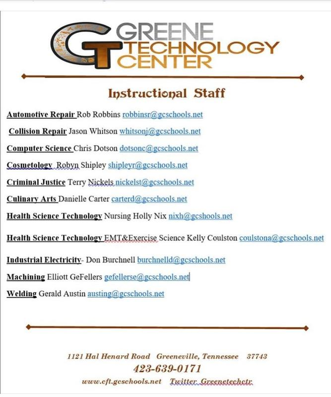 Phone list for GTC