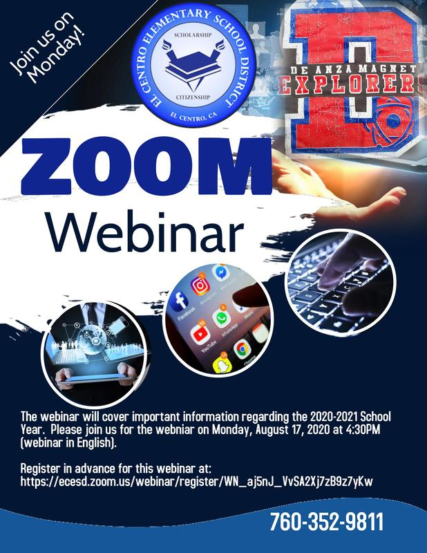 Distance Learning Webinar for Parents Featured Photo