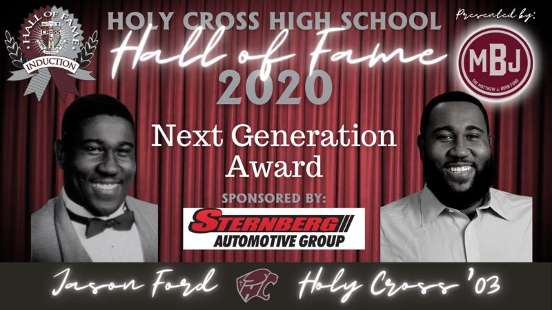 Hall of Fame Induction Week: Next Generation Award- Jason Ford, HC'03 Featured Photo