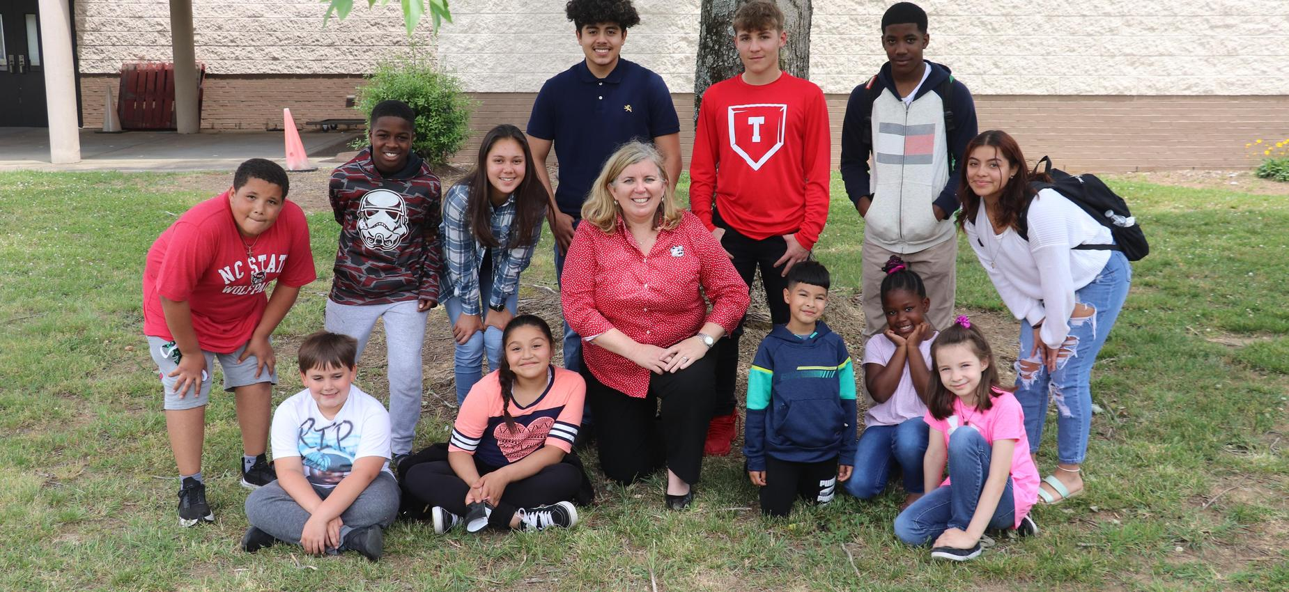 Dr. Gentry & Students