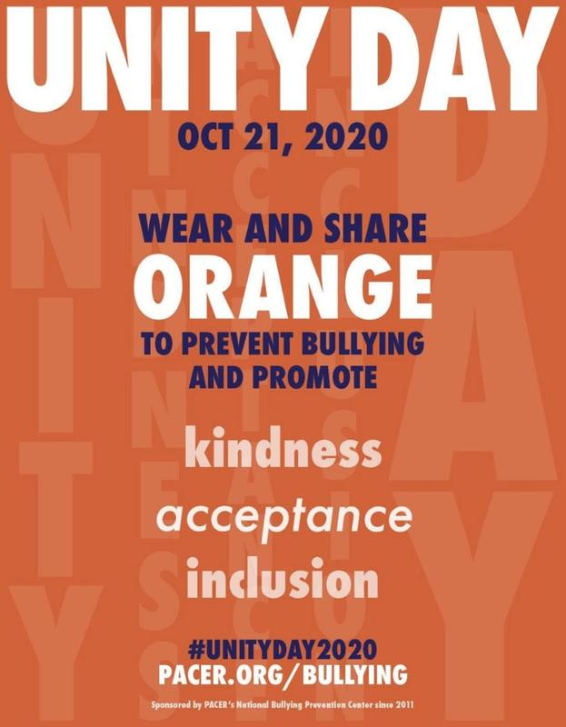 Unity Day-Wednesday, October 21, 2020 Featured Photo
