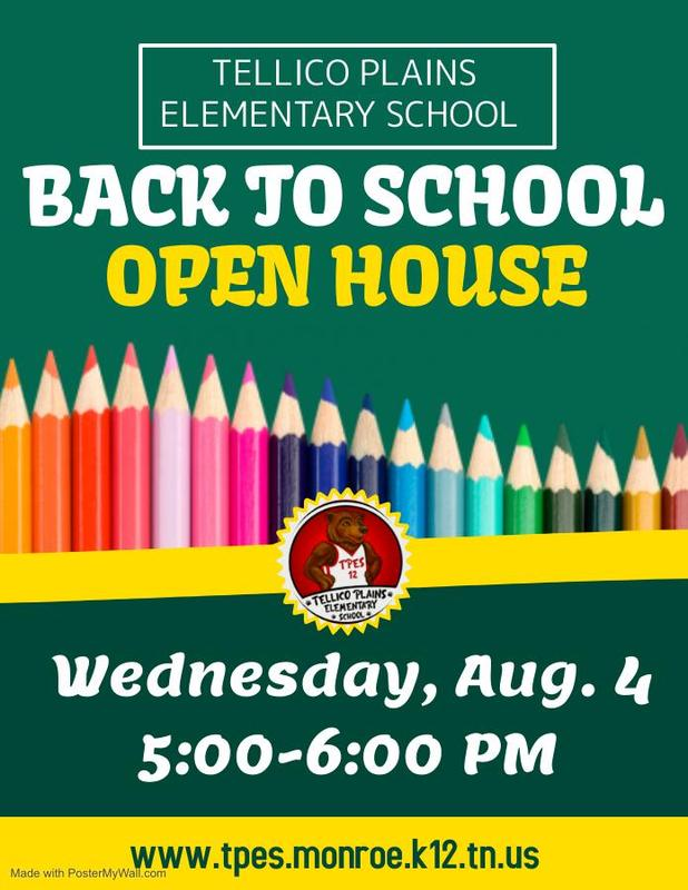 pack of colored pencils, green banner with text and school logo